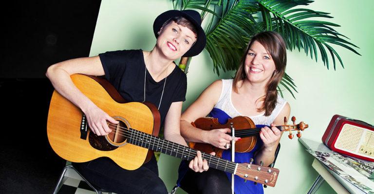 Musikarane Annlaug Børsheim og Mari Skeie Ljones.