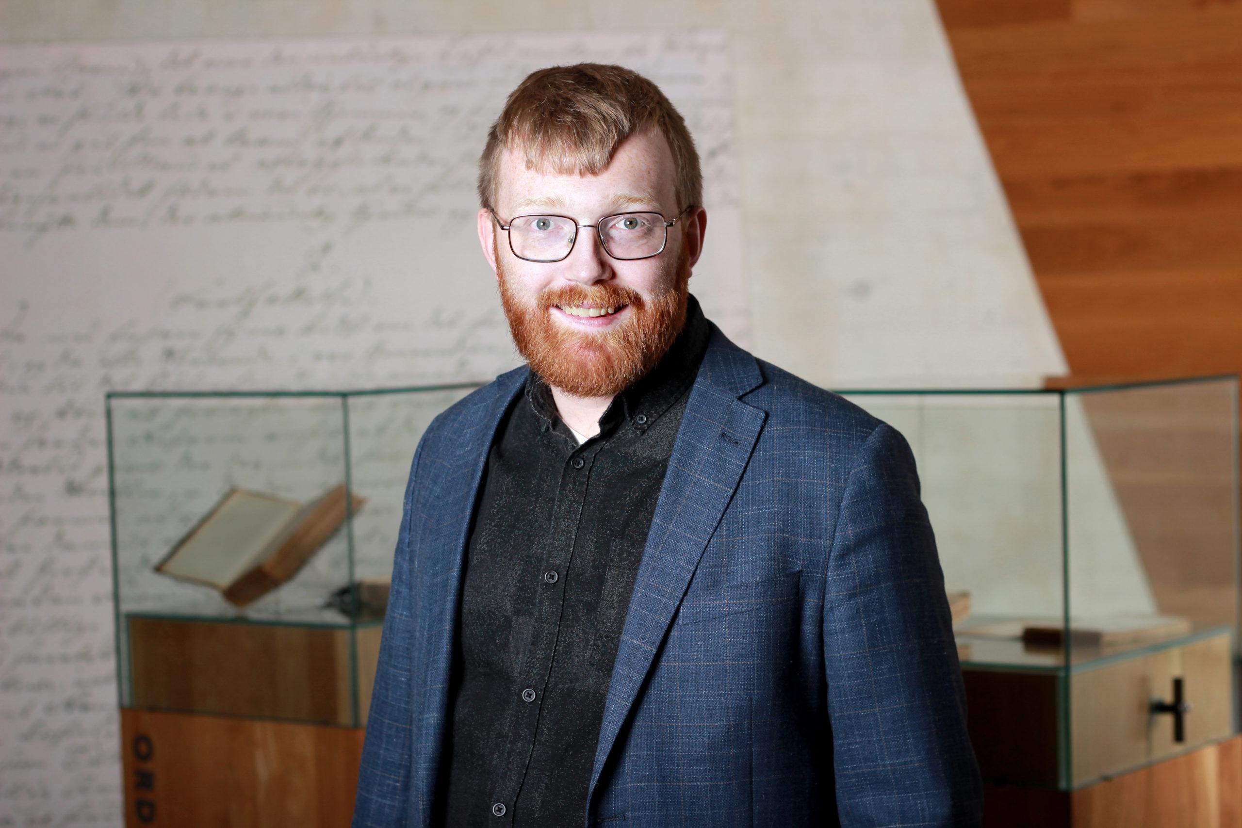 Bilete av direktør i nynorsk kultursentrum Per Magnus Finnanger Sandsmark.