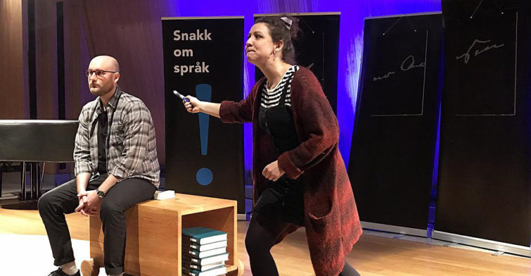 Snakk om språk. Foto: Ingeborg Kristvik