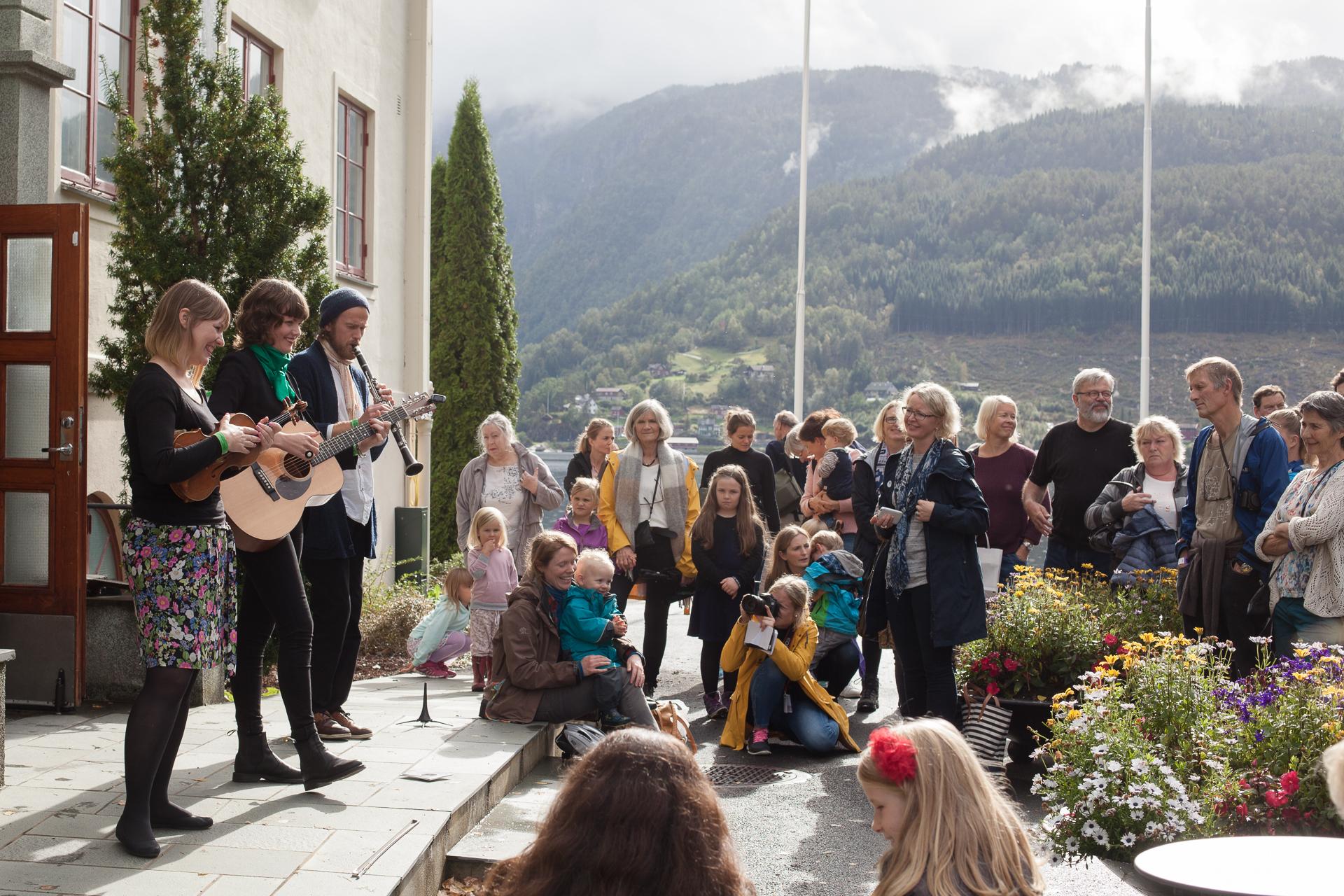 Bilete frå Ulvik poesifestival