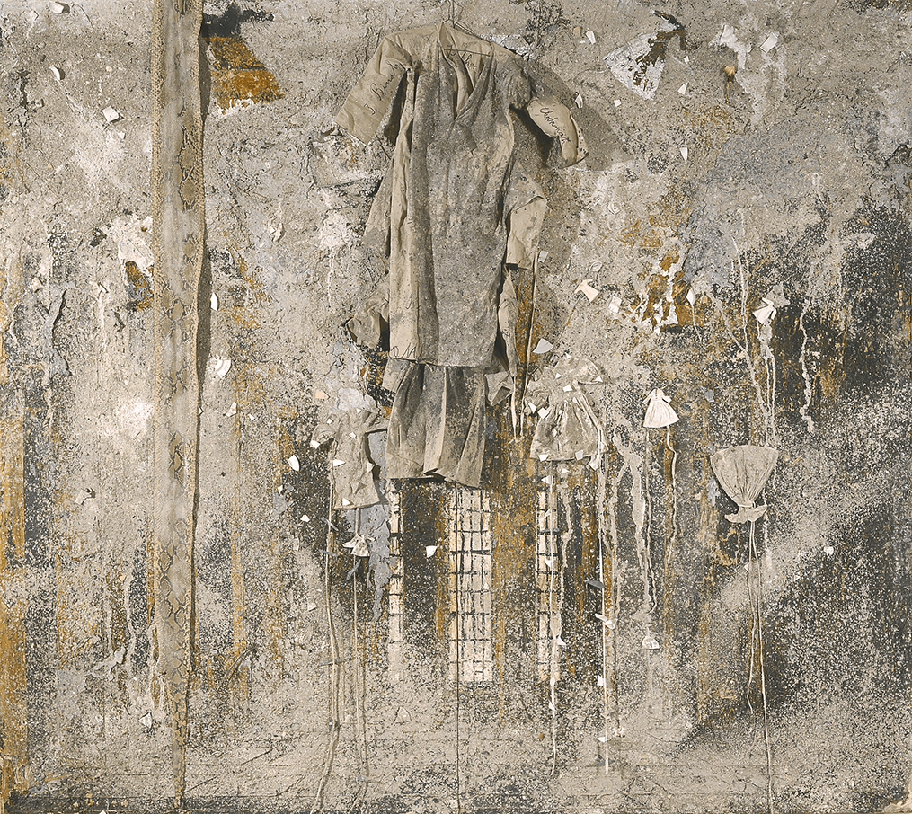Illustrasjon til novella Frøken Franzen – kustverket Ladder to the Sky 1990-1991 av Anselm Kiefer