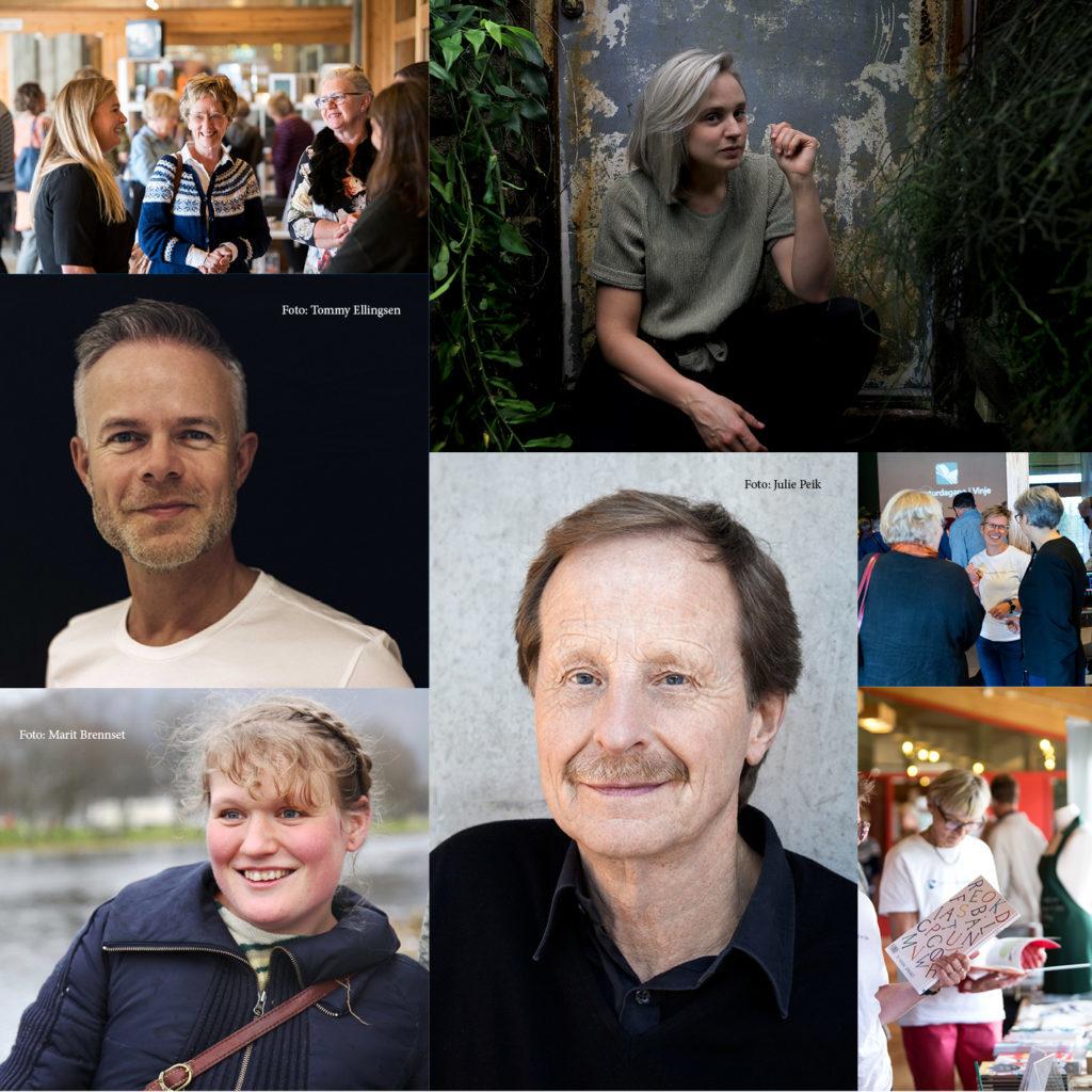 Foto-kollasje til Litteraturfestivalen 2020