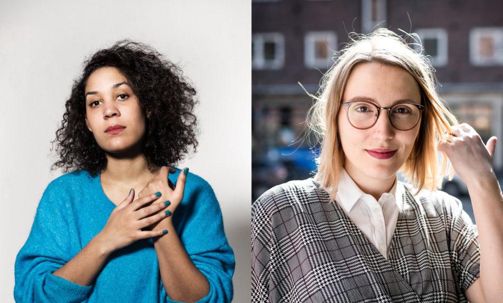 Bilete av Camara Lundestad Joof og Kristina Leganger Iversen