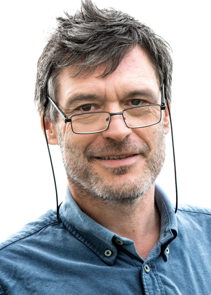 Bilete av Årets nynorskbrukar 2020 Geir Sverre Braut.