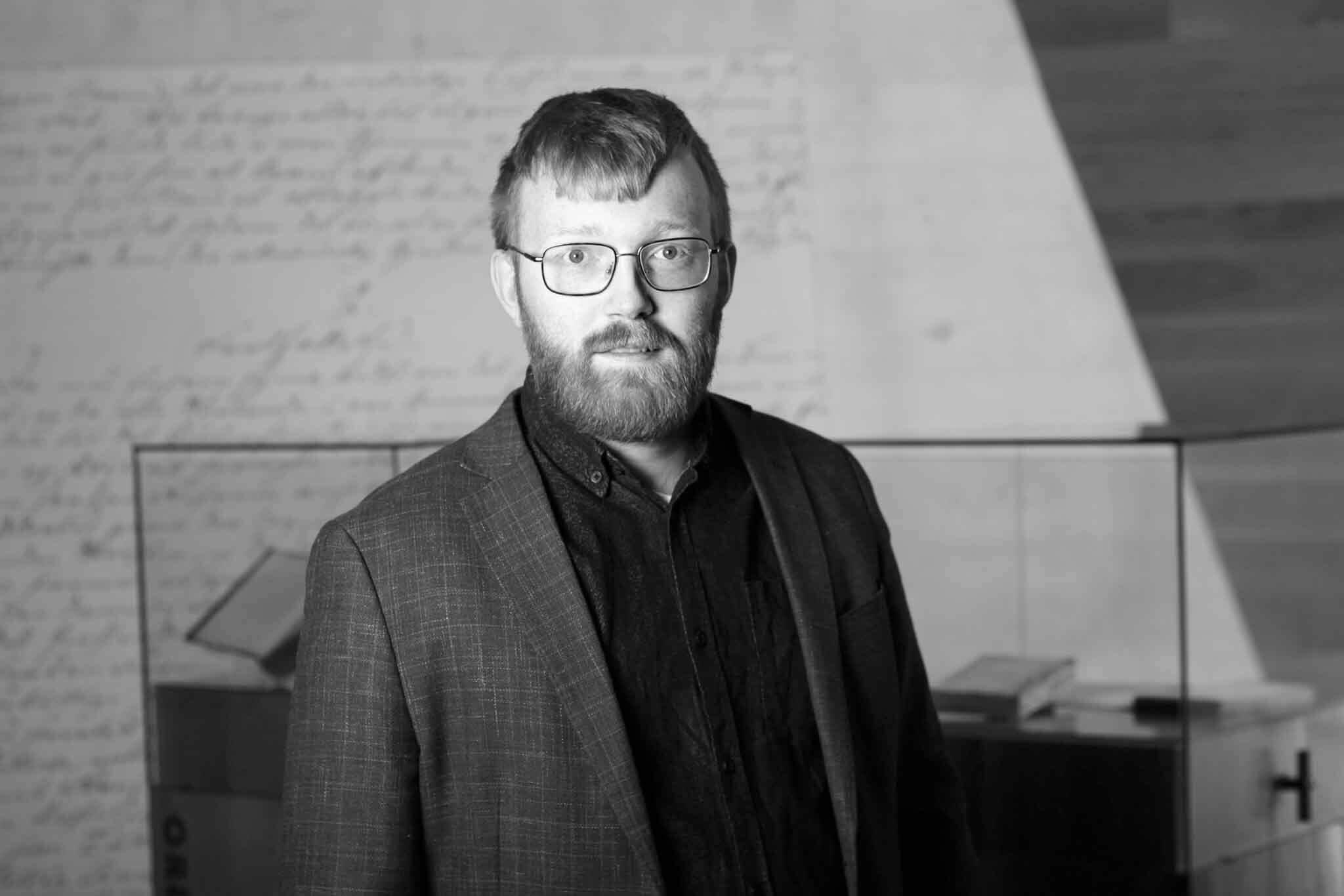 Bilete av direktør i Nynorsk kultursentrum Per Magnus Finnanger Sandsmark